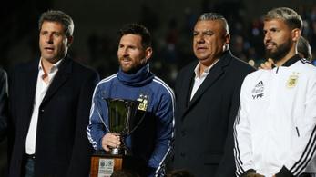 Megvan Messi első nemzetközi kupasikere az argentin válogatottal