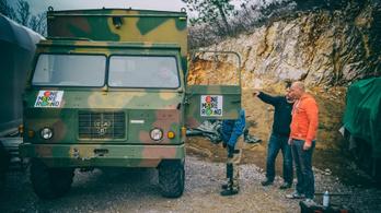 Beindítjuk Szlovéniát - TAM rádióskocsi