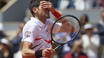 Djokovic 26 meccs után kikapott, megismétlődik a tavalyi Garros-döntő