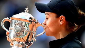 Barty a Roland Garros bajnoka, első Grand Slamjét nyerte egyéniben