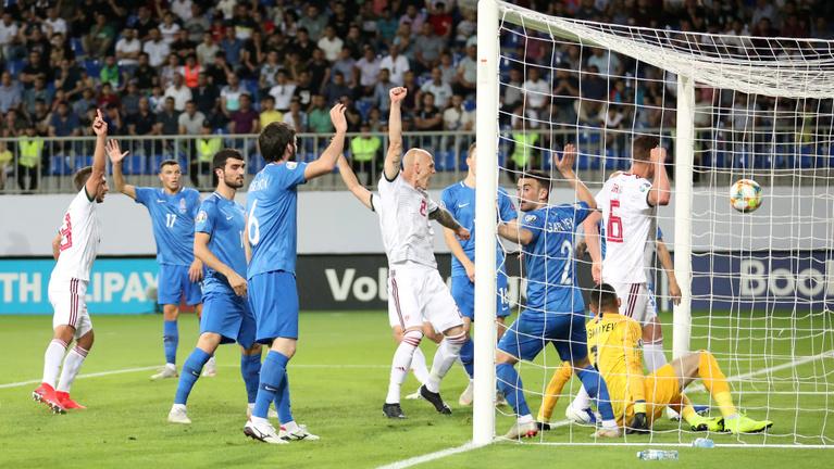 3-1, sima meccsen vertük Azerbajdzsánt