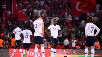 2-0-ra verték a törökök a franciákat az Eb-selejtezőn