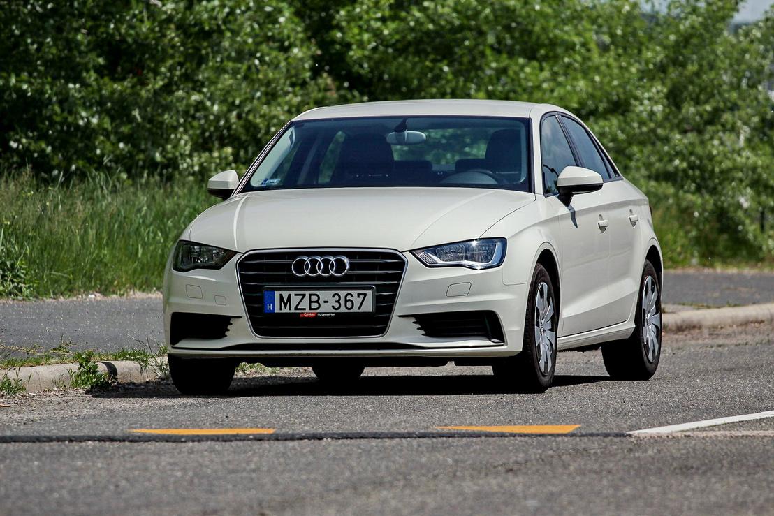 Nagyobbnak látszik mint amekkora. Van Audi hatás