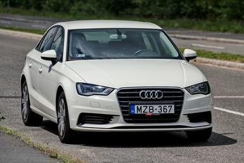 Fapados Audi, finoman lelakva