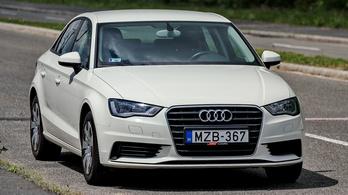 Használtteszt: Audi A3 Sedan TDI Clean Diesel Attraction - 2014.