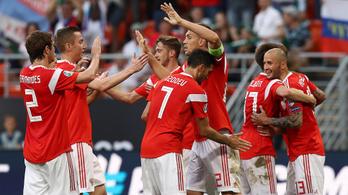Az orosz óriás négy gólt lőtt San Marinónak