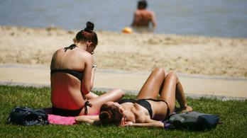Beütött a nyár, elsőfokú figyelmeztetést adtak ki több megyére a hőség miatt