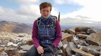 Belecsapott egy villám egy túrázóba Skóciában