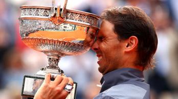 Nadal 12. Garrosát nyerte Thiem ellen