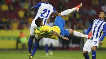 Nem látszott Neymar hiánya, hétnél álltak meg a brazilok