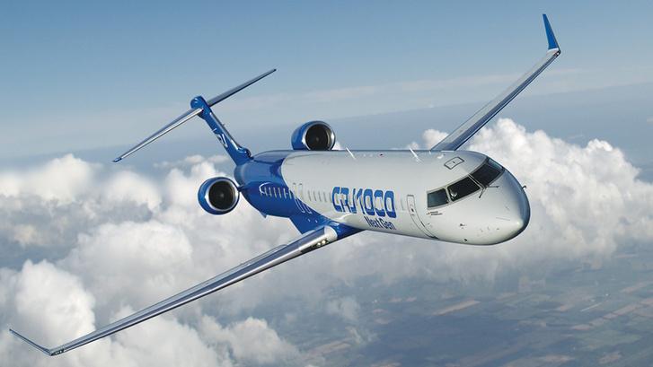 Egy CRJ 1000-es Bombardier