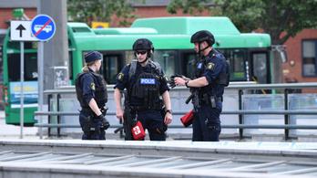 Rálőttek egy férfire a svéd rendőrök a malmöi pályaudvarnál