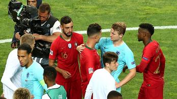 Ronaldo megpróbálta a Juventushoz csábítani De Ligtet
