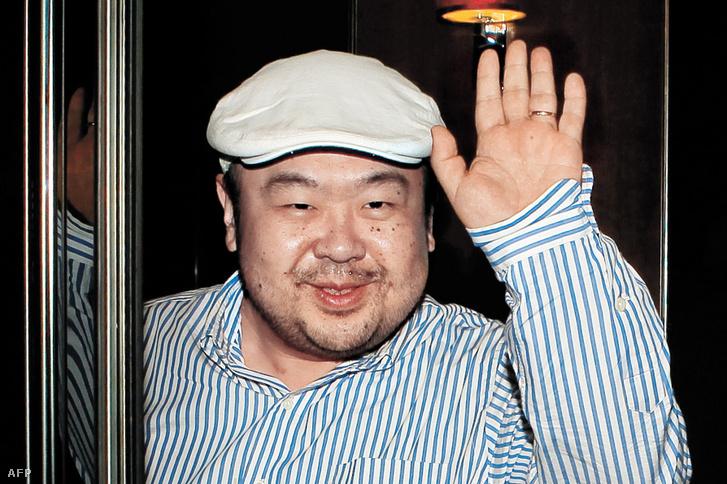 Kim Dzsongnam 2010. június 4-én Makaón