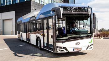 Bemutatta új hidrogénes buszát a Solaris