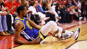 NBA-döntő: A Warriors nagyot mentett, de újra elvesztette Durantot
