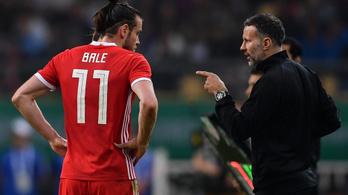 Giggs: Reméljük, Bale a magyarok ellen tartogatta magát