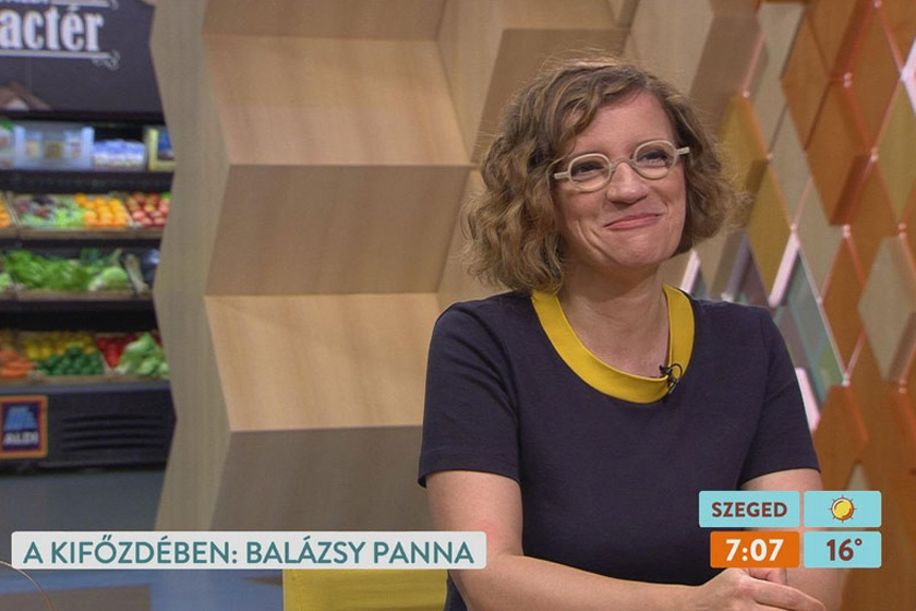 Balázsy Panna szereti a változatosságot, 2-3 évente munkahelyet cserél.