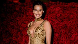 Irina Shayk fürdőruhás modellkedéssel vigasztalódik