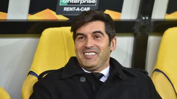 Portugál edző az AS Roma kispadján