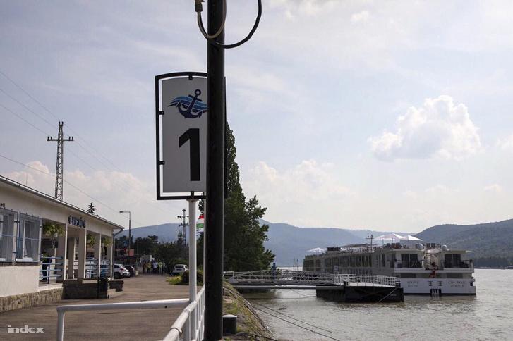 Viking Sigyn Visegrádon 2019. június 10-én