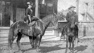 A vadnyugat rettegett banditája egy oklahomai iskoláslány volt