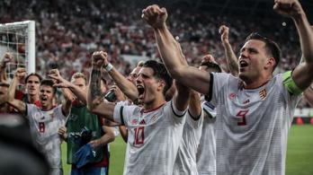 Nagy lépés az Eb felé, 1-0 Wales ellen