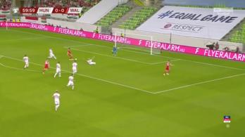 Ziccerben kapta a labdát Bale, mégsem ütött a magyarok órája