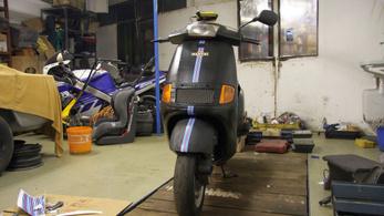 Dobtuk az Aprilia SR-t, új bringát avatunk a TB24-re!