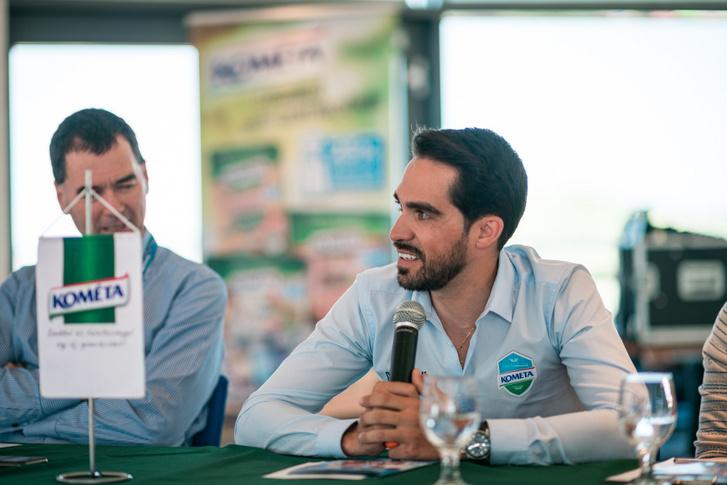 Alberto Contador a sajtótájékoztatón 2019. június 12-én