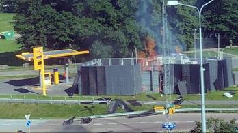 Robbanás történt egy hidrogénkúton