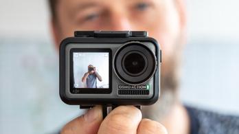 Egy kamera szégyenlős influenszereknek