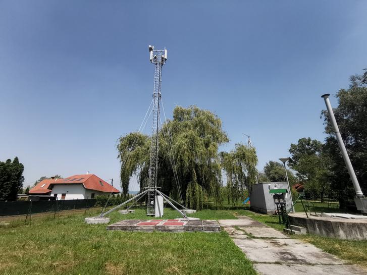 Így néz ki egy átmeneti antenna