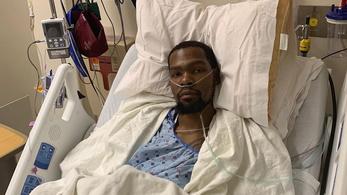 Tényleg elszakadt Kevin Durant Achillese, már meg is műtötték