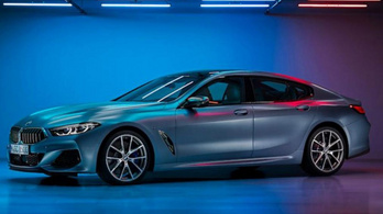 Kiszivárgott a négyajtós 8-as BMW