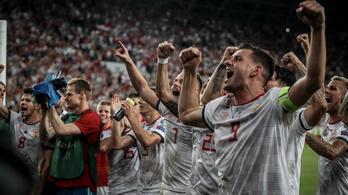 A FIFA-ranglista legtöbbet fejlődő csapatai közt a magyar válogatott
