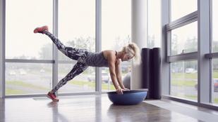 Így erősítsd a mélyizmaidat egyensúlypárnával otthon