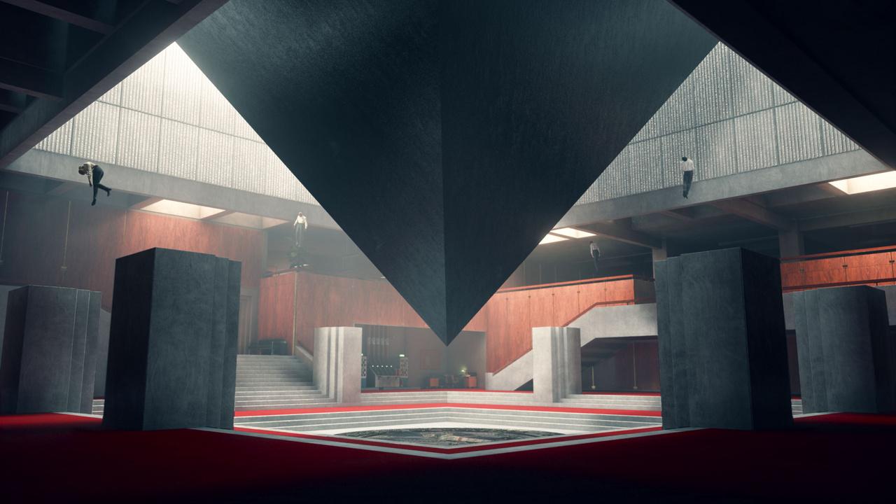 A Control két képpel is bekerült az Into the Pixelbe, a másik címe: The Hub. A Remedy több grafikusa rakta össze többféle szoftverrel, merthogy ez egy pillanatkép magából a játékból.