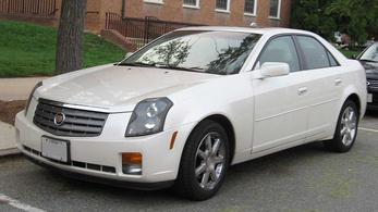 Cadillac CTS gázosítása