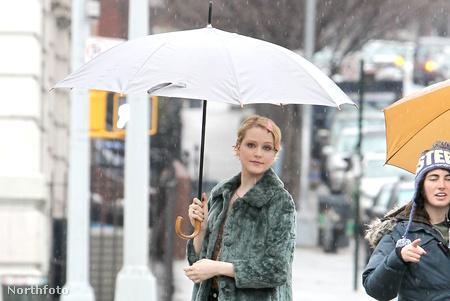 Evan Rachel Wood New Yorkban rossz időben