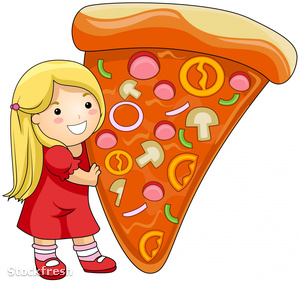 stockfresh 401965 girl-with-pizza sizeM