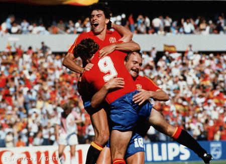 Spanyol gólöröm - Butragueno háttal, kilences mezben