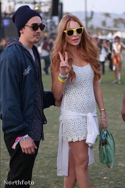 Lindsay Lohan a Coachellán