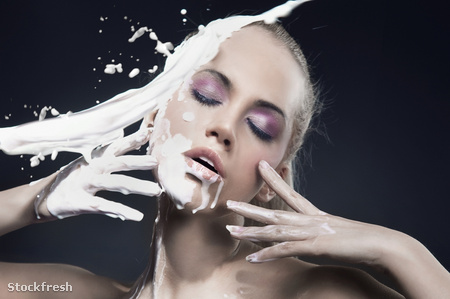 stockfresh 717142 portrait-of-a-beautiful-blonde-dousing-with-cr