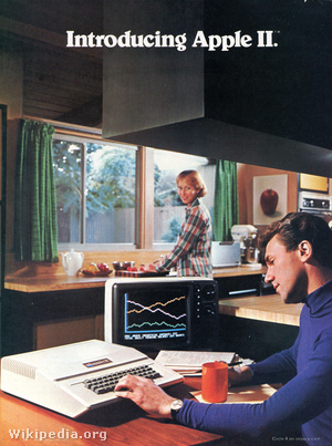 Apple II advertisement Dec 1977 page 1