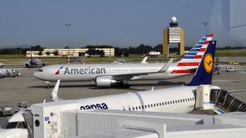Megszakította útját az American Airlines Budapestről indult járata