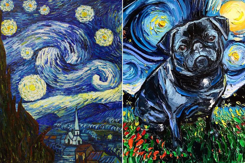 Új szereplőt kapott Van Gogh legismertebb képe: így még látványosabb