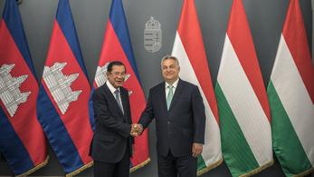 A kambodzsai miniszterelnökkel tárgyalt Orbán Viktor