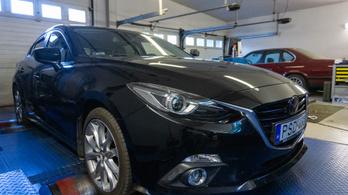 Totalcar Erőmérő: Mazda 3 Skyactiv G165