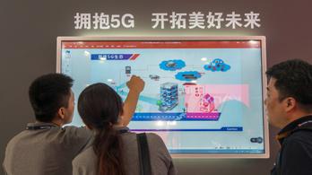 Kínában is indul az 5G , be akarják fogni a nyugatiakat
